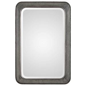 Uttermost Mirrors Jarno Industrial Iron Mirror