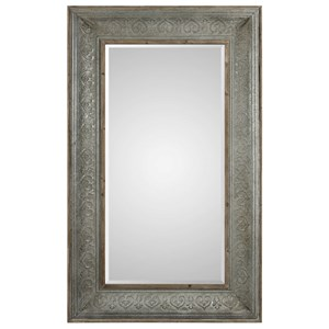 Uttermost Mirrors Bianca Aged Gray Mirror