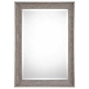 Uttermost Mirrors Corrado Textured Gray Mirror