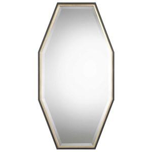 Uttermost Mirrors Savion Gold Octagon Mirror