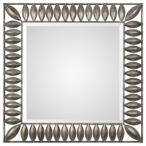 Uttermost Mirrors Taavetti Forged Iron Pods Mirror