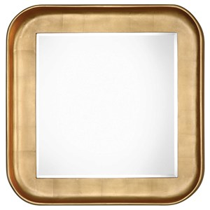 Uttermost Mirrors Haemon Metallic Gold Mirror