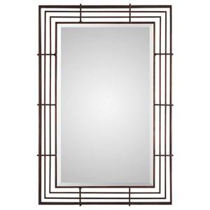 Uttermost Mirrors Perlo Rust Bronze Mirror