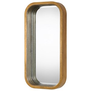 Uttermost Mirrors Senio Metallic Gold Wall Mirror