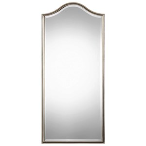 Uttermost Mirrors Cecita Metallic Silver Mirror