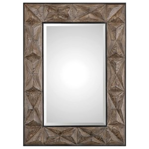 Uttermost Mirrors Wilder Aged Wood Mirror