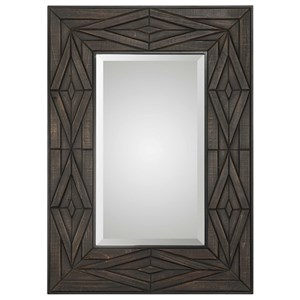 Uttermost Mirrors Bolsena Solid Wood Mirror