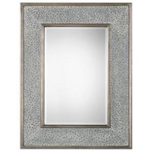Uttermost Mirrors Draven Textured Silver Mirror