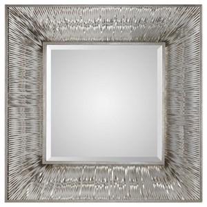 Uttermost Mirrors Jacenia Silver Square Mirror