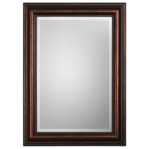 Uttermost Mirrors Stuart Rubbed Bronze Mirror