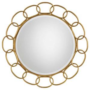 Uttermost Mirrors Circulus Gold Round Mirror