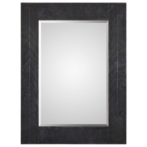 Uttermost Mirrors Caprione Oxidized Dark Copper Mirror