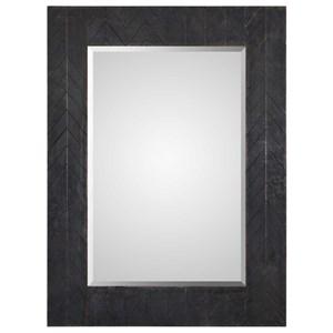 Uttermost Mirrors Caprione Oxidized Dark Copper Mirror