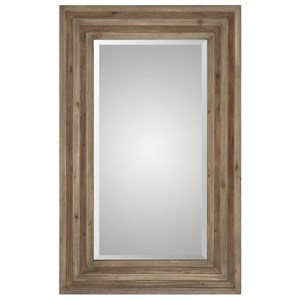 Uttermost Mirrors Layton Wood Mirror