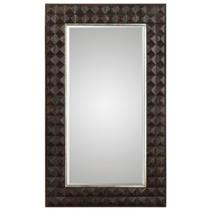 Uttermost Mirrors Aperia Walnut Oversized Mirror