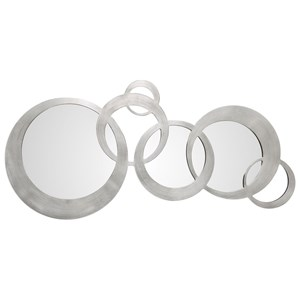 Uttermost Mirrors Odiana Silver Rings Modern Mirror
