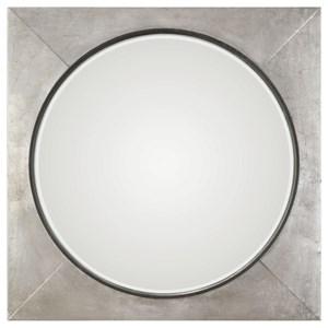 Uttermost Mirrors Solomon Metallic Silver Mirror