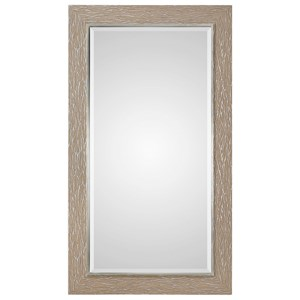 Sahel Textured Pine Mirror