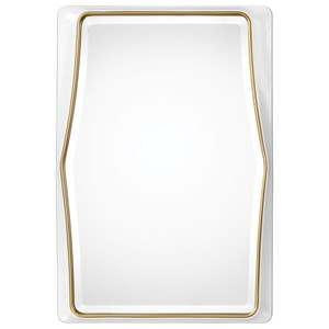 Uttermost Mirrors Colleen Gloss White Mirror