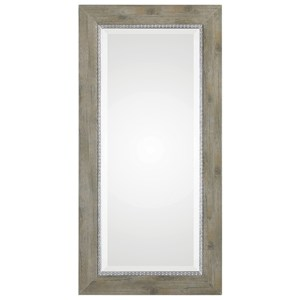 Sheyenne Rustic Wood Mirror