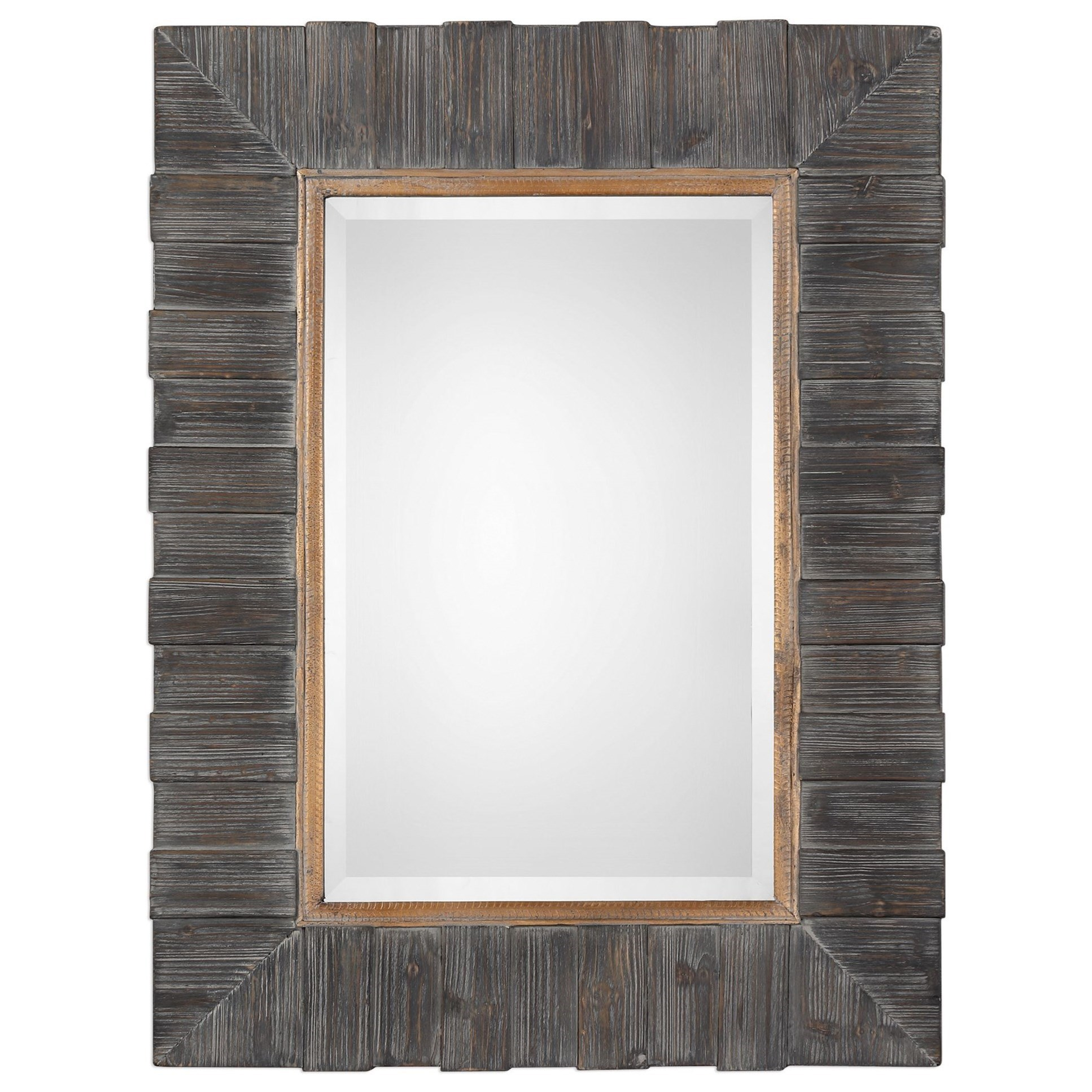 Mancos Rustic Wood Mirror
