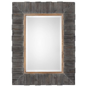Uttermost Mirrors Mancos Rustic Wood Mirror