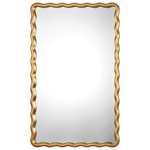 Uttermost Mirrors Cosimia Metallic Gold Mirror