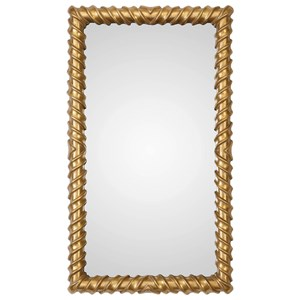 Yamuna Metallic Gold Mirror