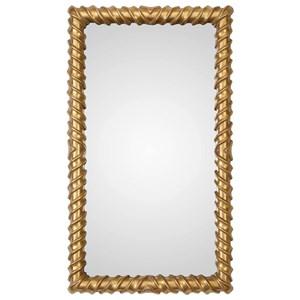 Uttermost Mirrors Yamuna Metallic Gold Mirror