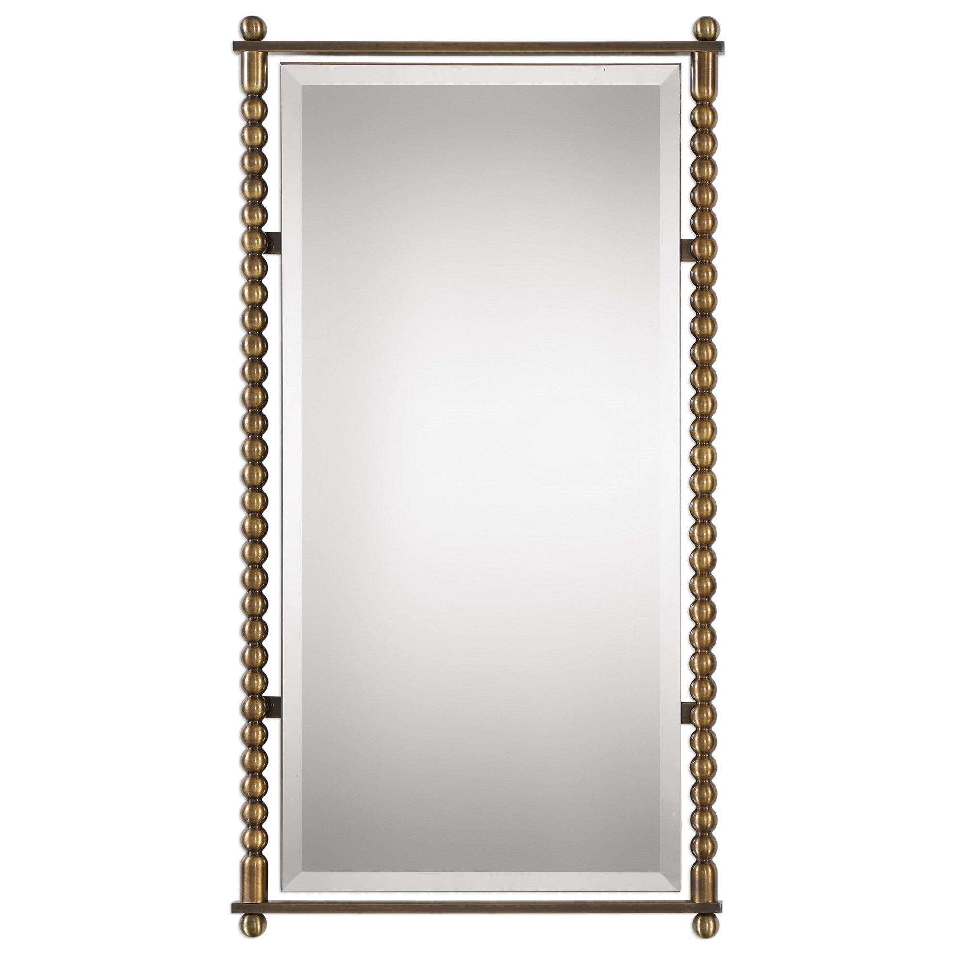 Rosabel Antique Brass Rectangle Mirror