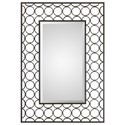 Uttermost Mirrors Leveen Iron Rings Mirror - Item Number: 09347