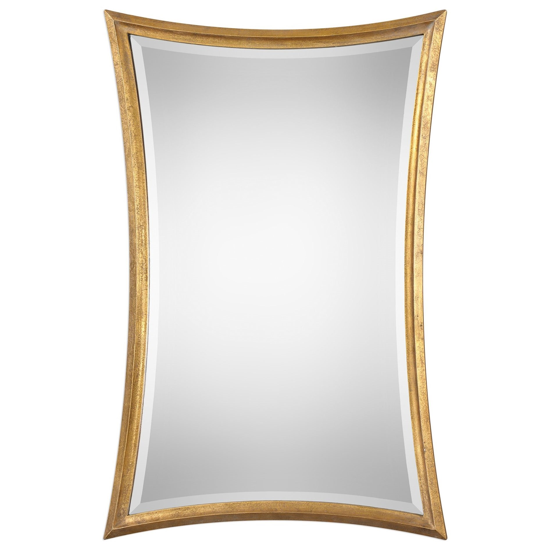 Vermejo Scalloped Gold Mirror