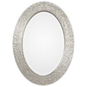 Uttermost Mirrors Conder Oval Silver Mirror