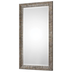 Newlyn Burnished Silver Mirror