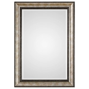 Uttermost Mirrors Shefford Antiqued Silver Mirror