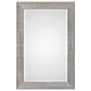 Uttermost Mirrors Leiston Metallic Silver Mirror