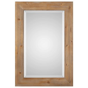 Bullock Solid Natural Wood Mirror