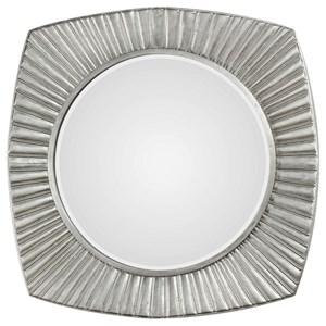 Uttermost Mirrors Flabella Metallic Silver Mirror