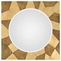 Uttermost Mirrors Ussana Patterned Wood Mirror - Item Number: 09384