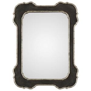 Uttermost Mirrors Bellano Aged Black Mirror