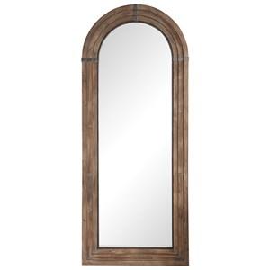 Uttermost Mirrors Vasari Wooden Arch Mirror