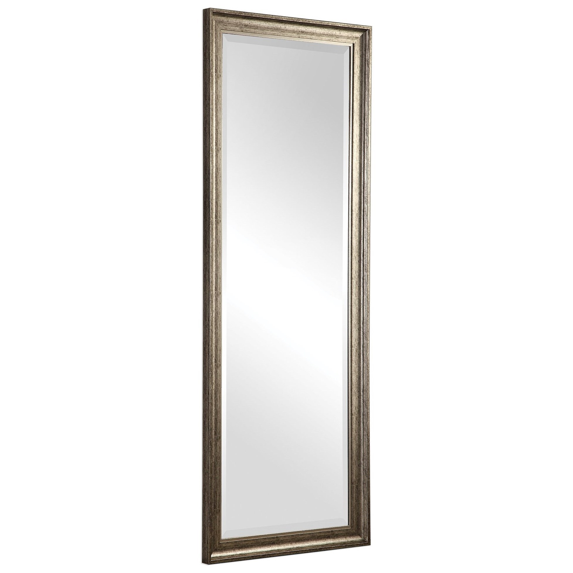 Aaleah Burnished Silver Mirror
