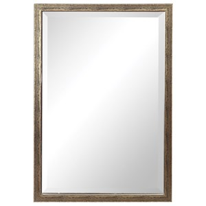 Uttermost Mirrors Aburay Tarnished Silver Mirror
