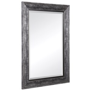 Affton Burnished Silver Mirror