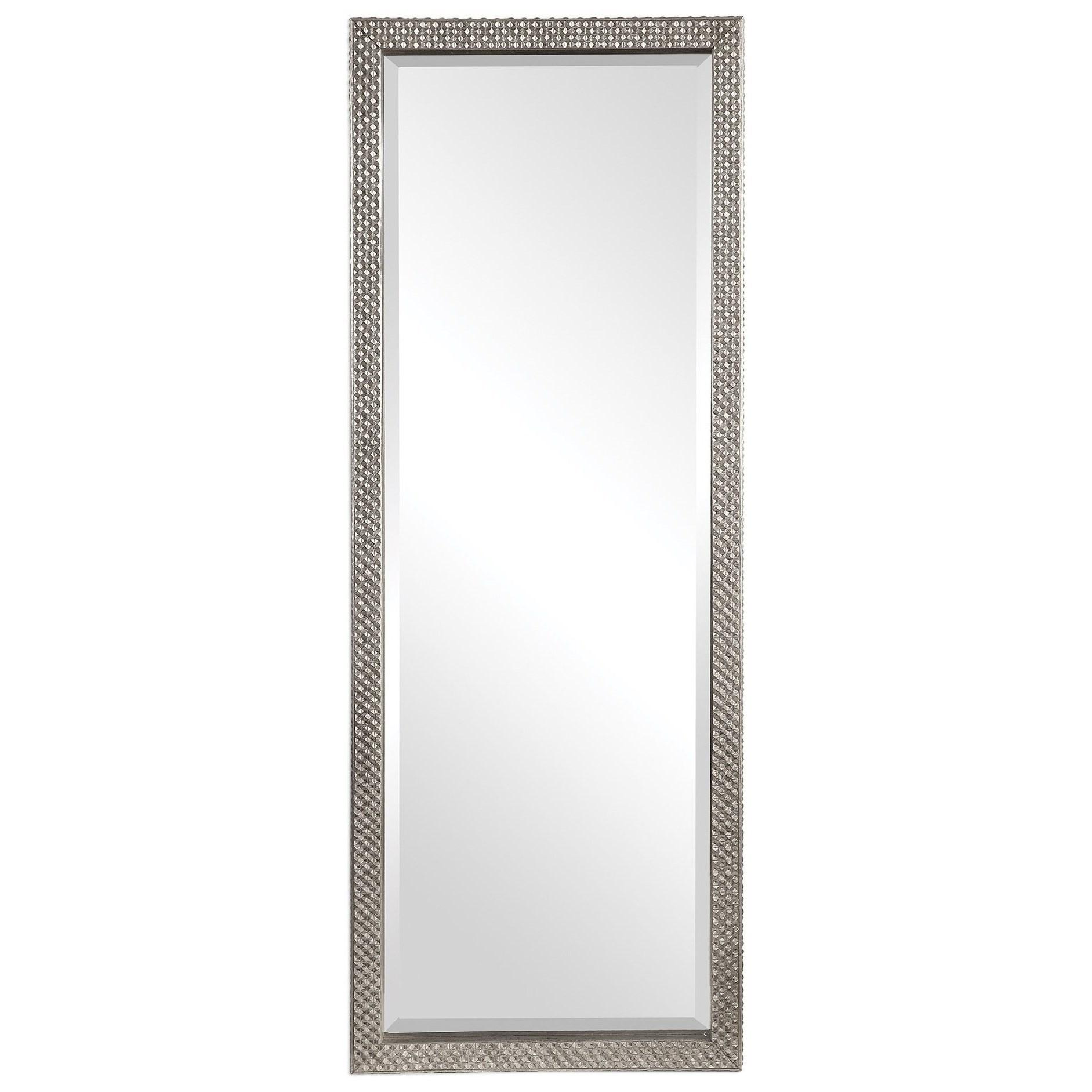 Cacelia Metallic Silver Mirror