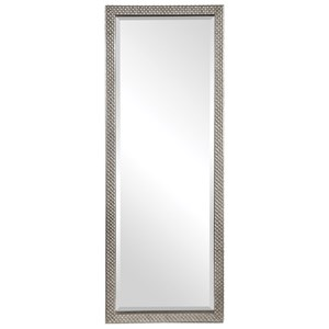 Cacelia Metallic Silver Mirror