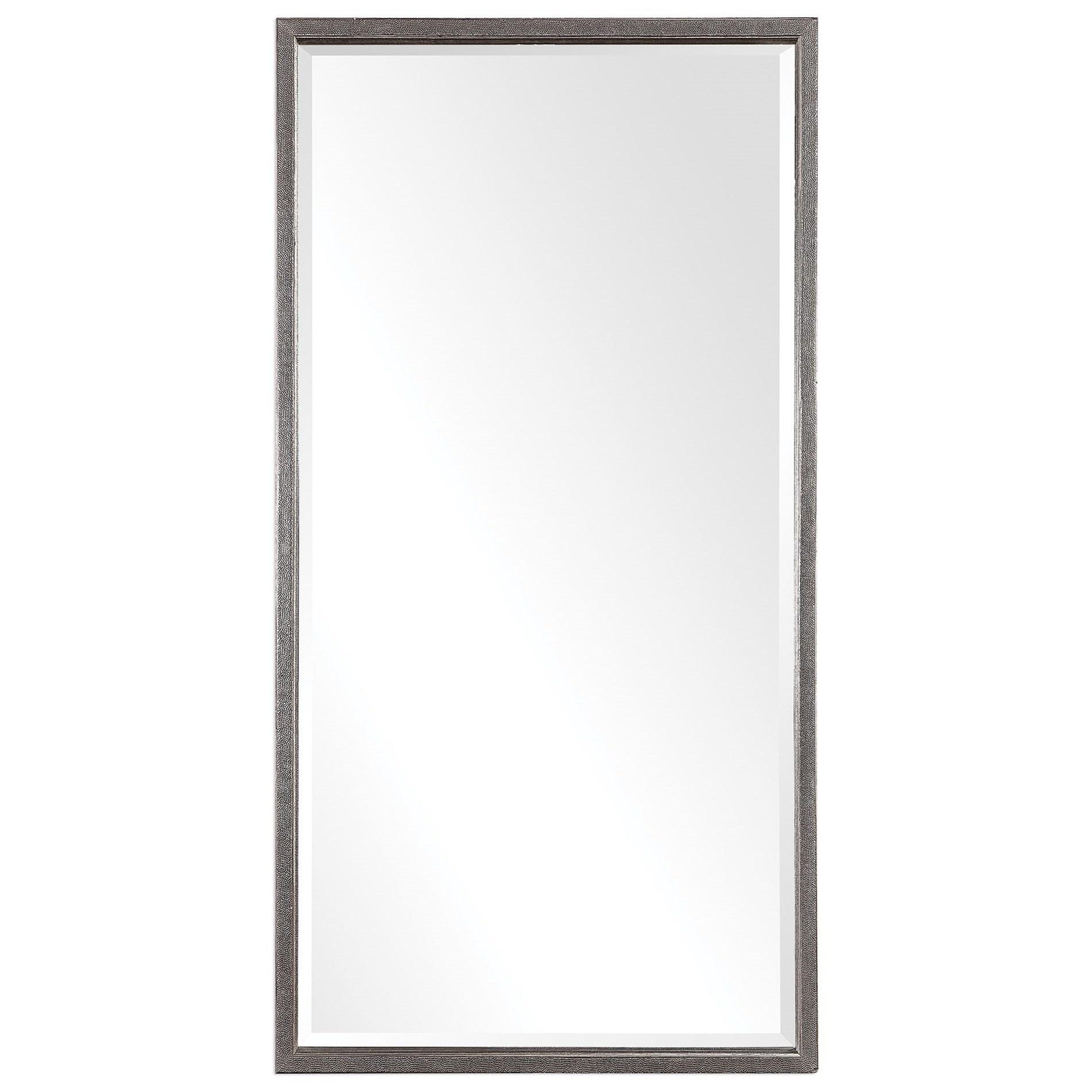 Gabelle Metallic Silver Mirror