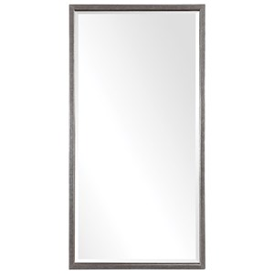 Gabelle Metallic Silver Mirror