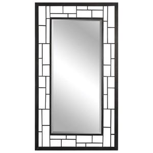 Uttermost Mirrors Labrun Rustic Dark Bronze Mirror