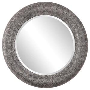 Uttermost Mirrors Macarea Round Moroccan Mirror
